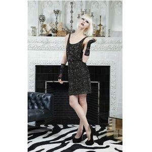 Alice + Olivia Gabby Embellished Blouson Dress 6